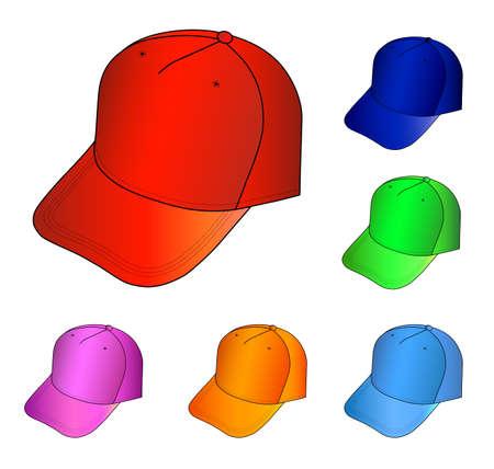 sported: Cap set  Illustration