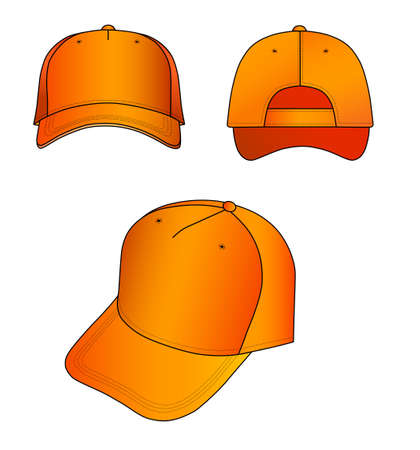 brim: Orange cap
