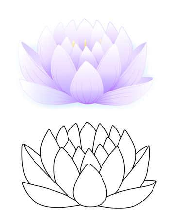 Blue lotus Stock Vector - 11357642