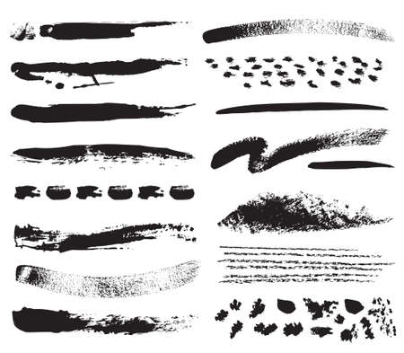 brush stroke: A collection of natural brush strokes