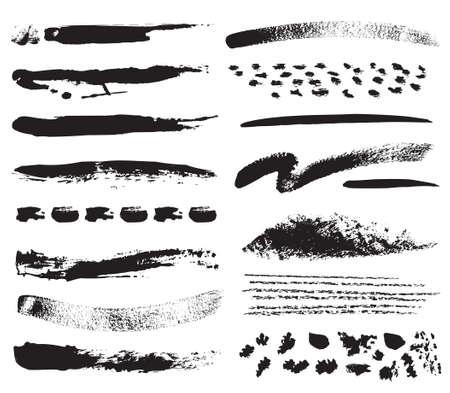 verschmieren: Eine Sammlung von nat�rlichen Pinselstrichen