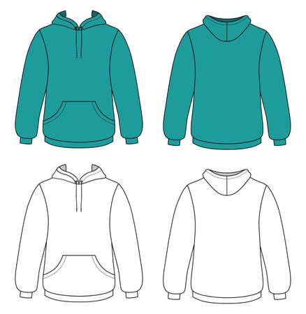 hooded: Unisex hoodie