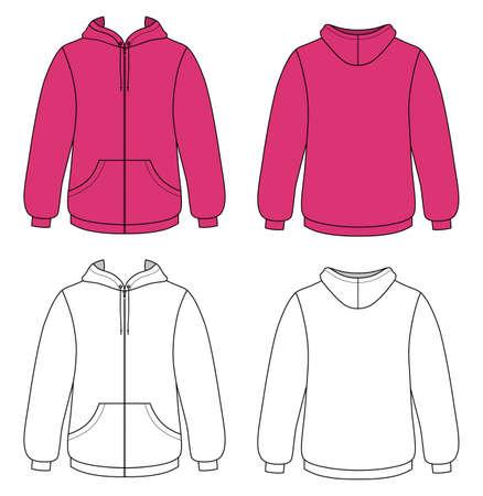 hooded sweatshirt: Unisex hoodie