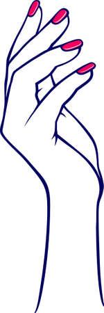 petite: Woman hands