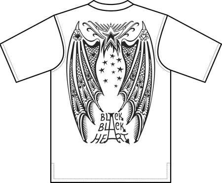Devils wings Stock Vector - 11358168