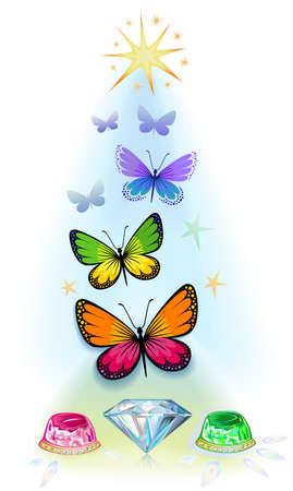 metamorphosis: Precious life over concept, illustration