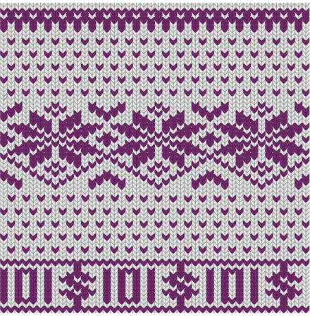 tricot: Seamless knitted tricot christmas business background, EPS8