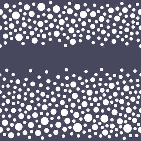 rhinestones: Seamless scattered diamonds (gems, rhinestones) isolated on grey background, vector illustration