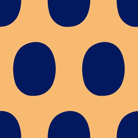 restless: Pop art seamless background, vector illustration Illustration