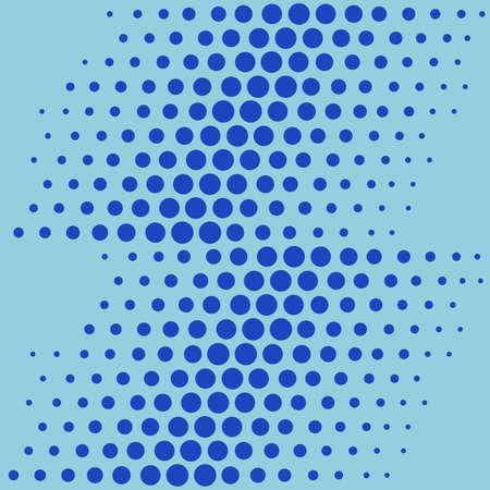 restless: Pop art shift seamless background, vector illustration Illustration