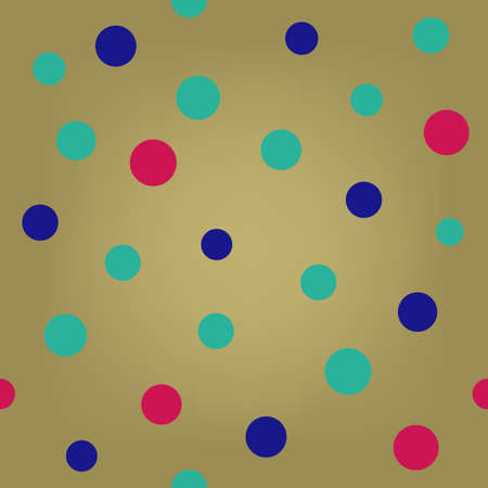 scalability: Pop art polka dot seamless background, vector illustration