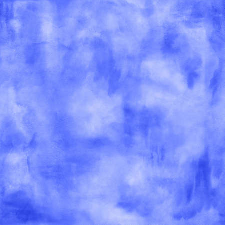 bile: Abstract boho blue watercolor blurred background