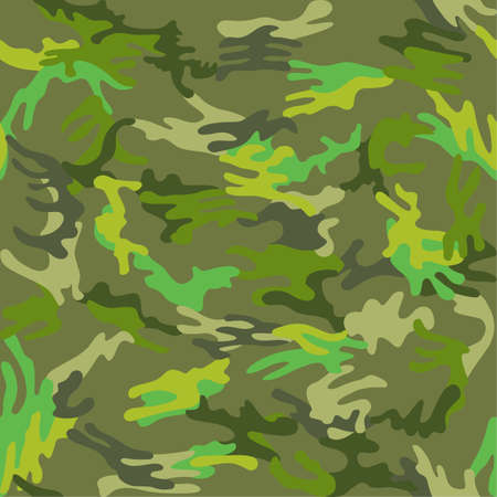docking: Camouflage seamless spots pattern background, vector illustration