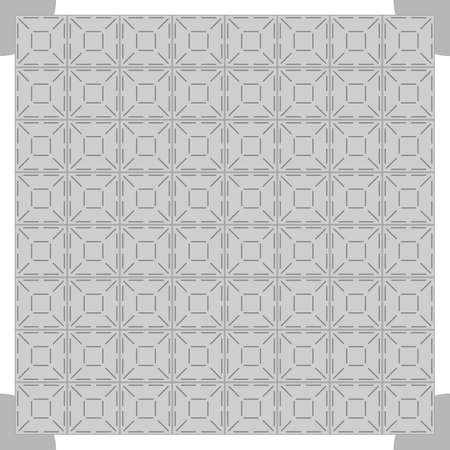 hush hush: Grey dance floor background, vector illustration
