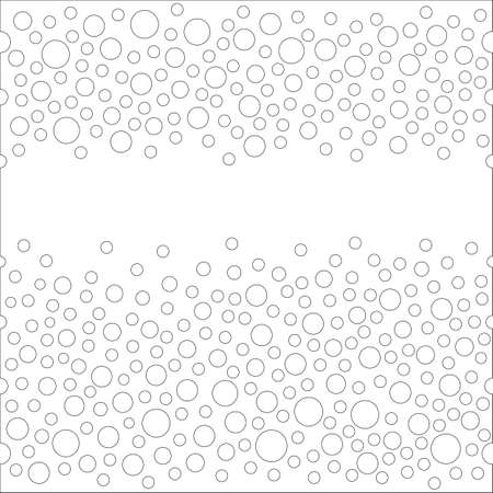 placer: Flawless Seamless scattered textures set (crystals, rhinestones), vector illustration