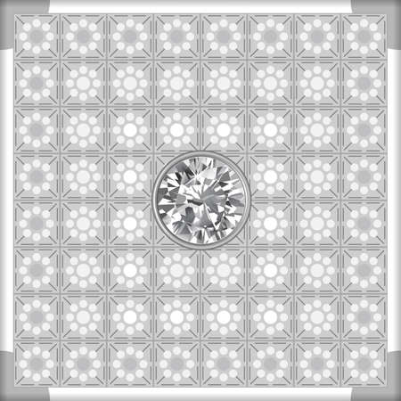 Grey lighting ceiling background, vector illustration