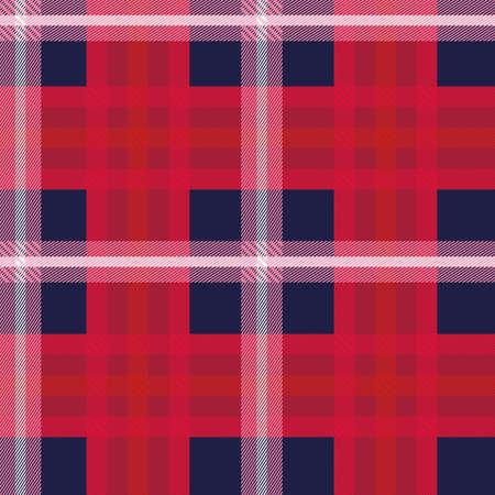 Tartan seamless pattern background, vector illustration Illustration