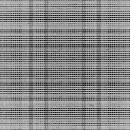 Tartan seamless pattern background, vector illustration Ilustração