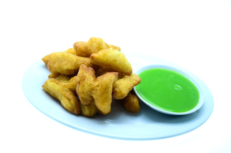 patongkoh: deep-fried dough stick