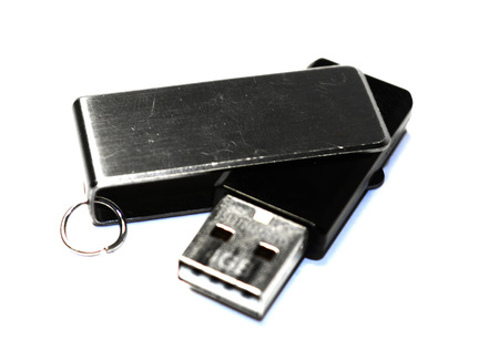 mb: Usb flash memory isolated on the white background - Handy drive - Thumb drive - Portable flash usb drive