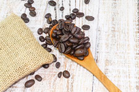 coffe break: coffe beans, real coffe, coffe Stock Photo