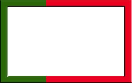 drapeau portugal: Cadre ray� drapeau Portugal