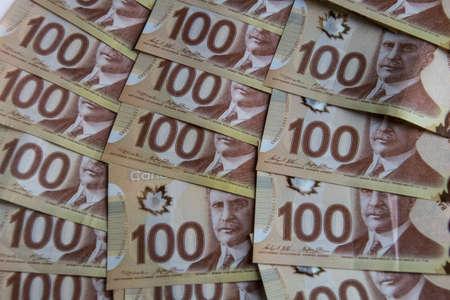 Hundred Dollar Canadian Money Stock fotó