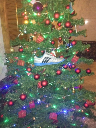 adidas: Invinsible man on tree