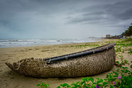 the beauty of tha seascape in danang vietnam