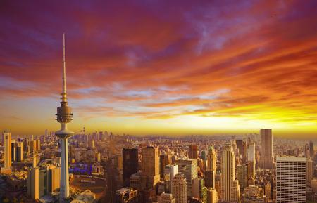 city landscape: Kuwait City skyline
