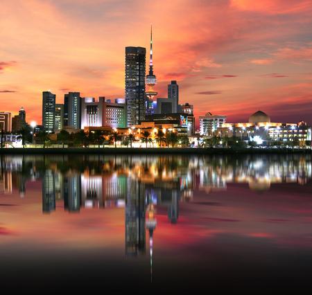 Kuwait City skyline Reklamní fotografie