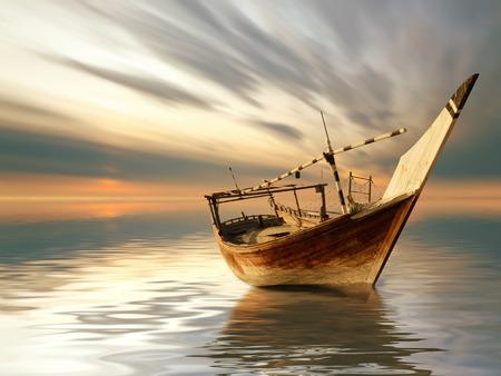 starych łodzi Zdjęcie Seryjne