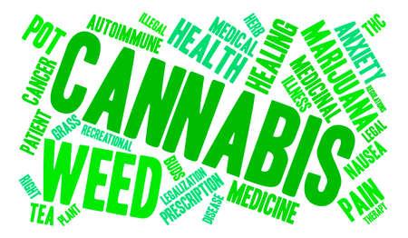 legislators: Cannabis word cloud on a white background.