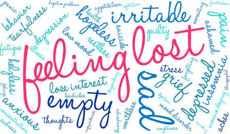 verlorene Texte fühlen