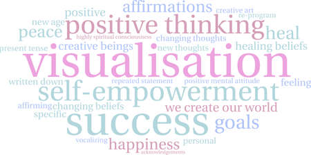visualisation: Visualisation word cloud on a white background.