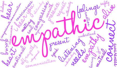 Empathic word illustration