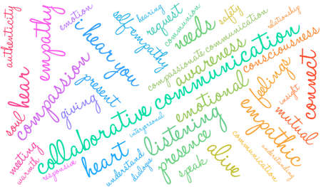 Labor word cloud on a white background. Illustration