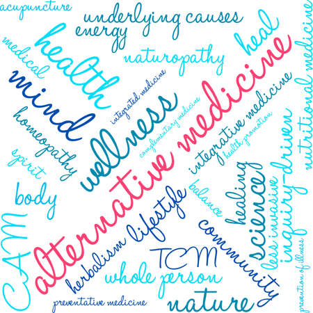 Medicine word cloud on a white background.