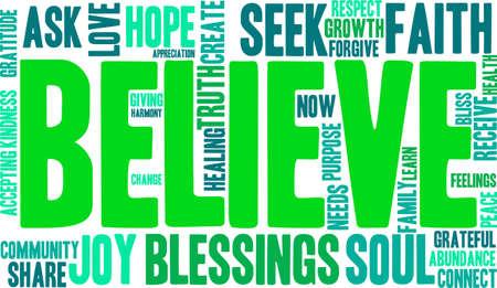 goodness: Believe Word Cloud