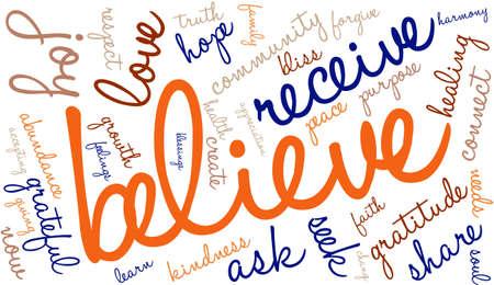 body consciousness: Believe Word Cloud