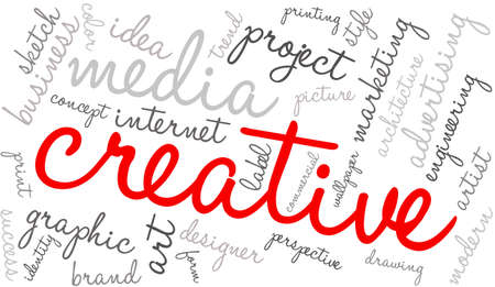 artistry: Creative word cloud on a white background.