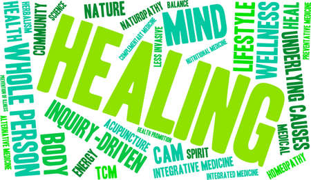 goodness: Healing Word Cloud