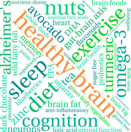 optimum: Health word cloud on a white background.