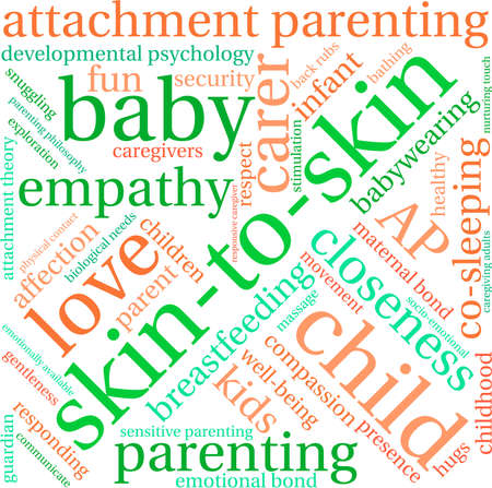 developmental: Skin-To-Skin word cloud on a white background.