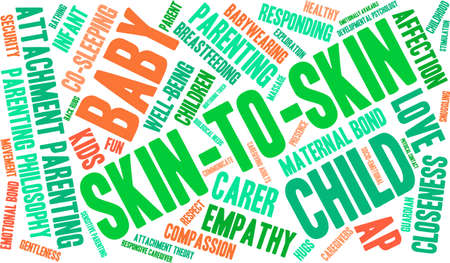 ap: Skin-To-Skin word cloud on a white background.