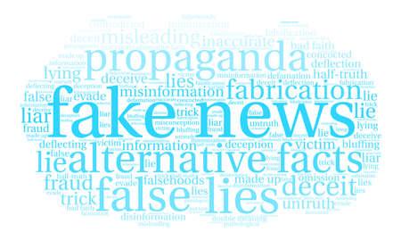 Nube falsa de la palabra de las noticias en un fondo blanco. Foto de archivo - 84319692