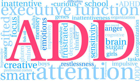 ADD word cloud concept.