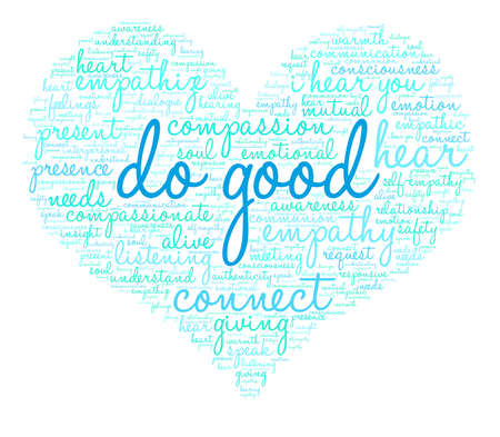 Do Good word cloud on a white background.