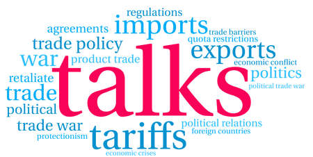 Talks word cloud on a white background.