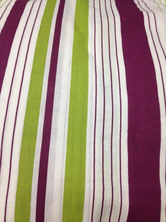musculine: Illuminating the musculine color into mixed maroon-white-green stripes.  Stock Photo